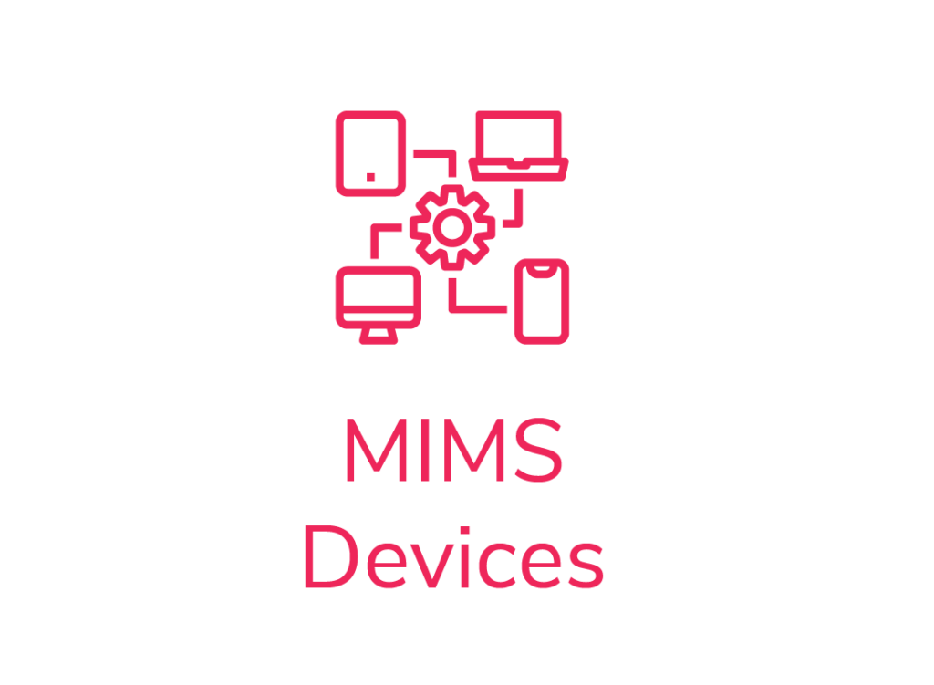 field Workforce management service work management module icon MIMS devices integration and communication process