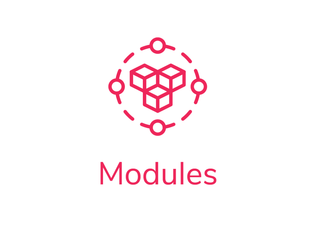 MIMS WorkForce Management  Solution Modules structure icon showing 3 cubes